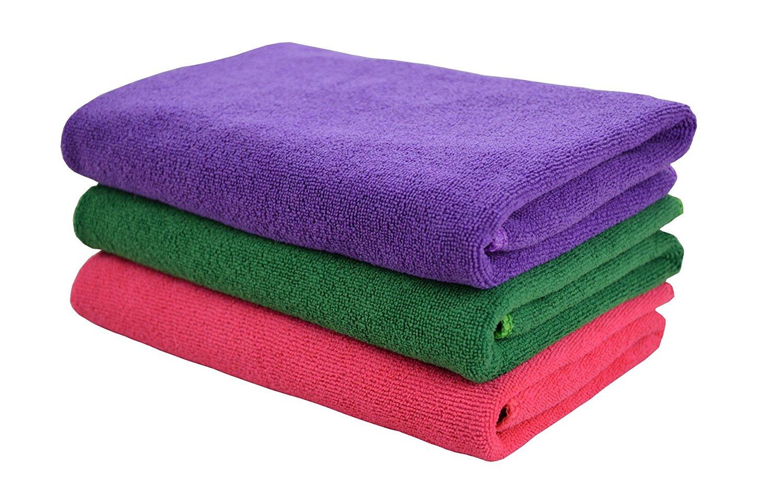 HOPESHINE Microfiber Gym Towels Fast Drying Sports Towel 3-Pack 16inch X 32inch